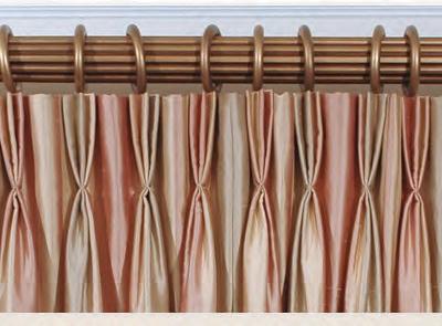 Custom Pinch Pleat Sheers